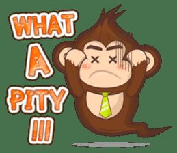 Pandey&Monka (Ghost Panda&Ghost Monkey) sticker #1858799
