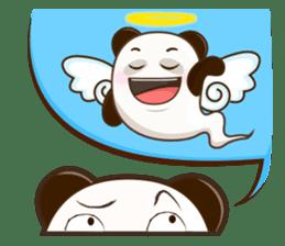 Pandey&Monka (Ghost Panda&Ghost Monkey) sticker #1858816