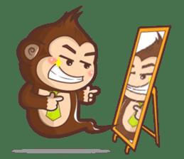 Pandey&Monka (Ghost Panda&Ghost Monkey) sticker #1858818