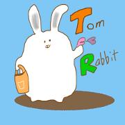 สติ๊กเกอร์ไลน์ Tom Rabbit
