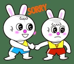 Rabbit (daily life conversation) sticker #1866833