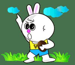 Rabbit (daily life conversation) sticker #1866835