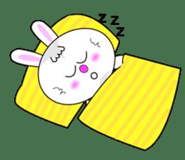 Rabbit (daily life conversation) sticker #1866841