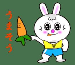 Rabbit (daily life conversation) sticker #1866844