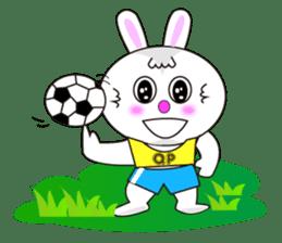 Rabbit (daily life conversation) sticker #1866847