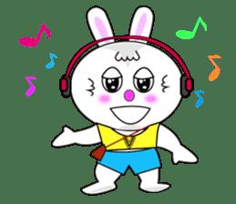 Rabbit (daily life conversation) sticker #1866848