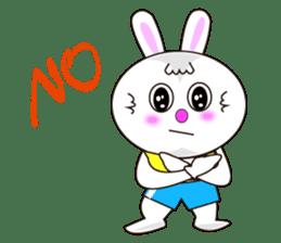 Rabbit (daily life conversation) sticker #1866851