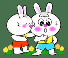 Rabbit (daily life conversation) sticker #1866852