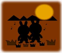 Rabbit (daily life conversation) sticker #1866853