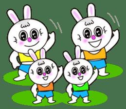 Rabbit (daily life conversation) sticker #1866857