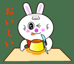 Rabbit (daily life conversation) sticker #1866858