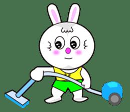 Rabbit (daily life conversation) sticker #1866859