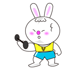 Rabbit (daily life conversation) sticker #1866860