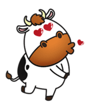 Moovin the Cow sticker #1867142