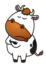 Moovin the Cow sticker #1867150