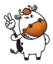 Moovin the Cow sticker #1867164