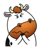 Moovin the Cow sticker #1867169