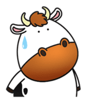 Moovin the Cow sticker #1867177