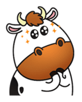 Moovin the Cow sticker #1867178