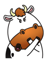 Moovin the Cow sticker #1867180