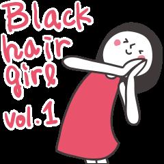 Black hair girl_Backchannel