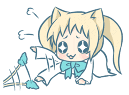 Nekomimi Survivor! sticker #1872110