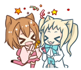 Nekomimi Survivor! sticker #1872121