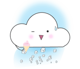 Cute weather sticker #1878589