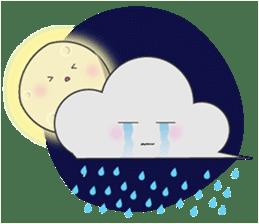 Cute weather sticker #1878592