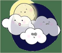 Cute weather sticker #1878594