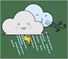 Cute weather sticker #1878595