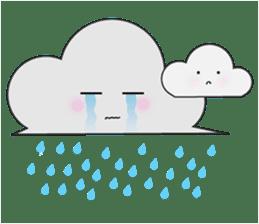 Cute weather sticker #1878596