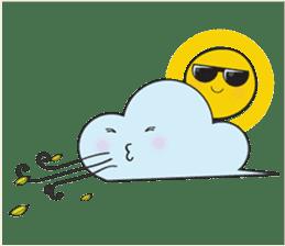 Cute weather sticker #1878604