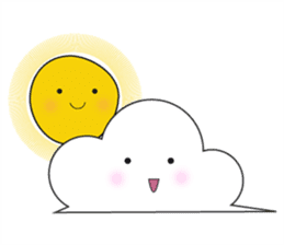 Cute weather sticker #1878605