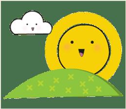 Cute weather sticker #1878606