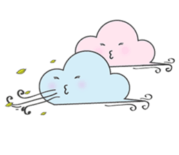 Cute weather sticker #1878612