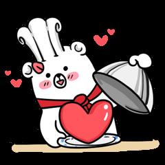 Polar Bear's cooking & food sticker