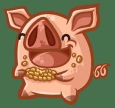 A Piggys Life sticker #1893424