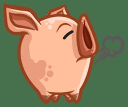 A Piggys Life sticker #1893433