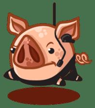 A Piggys Life sticker #1893435