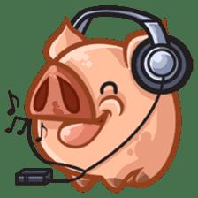 A Piggys Life sticker #1893444