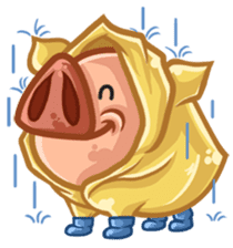 A Piggys Life sticker #1893450