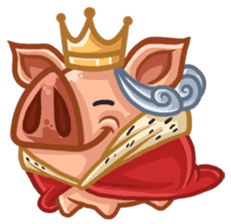 A Piggys Life sticker #1893453