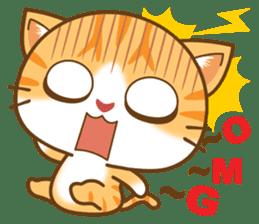 pumpkin cat sticker #1897195