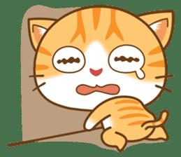 pumpkin cat sticker #1897218