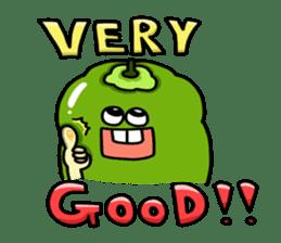 Cheerful Vegetables Village sticker #1897501