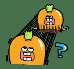 Cheerful Vegetables Village sticker #1897510