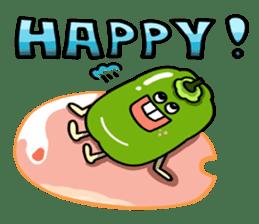 Cheerful Vegetables Village sticker #1897512