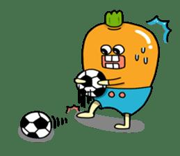 Cheerful Vegetables Village sticker #1897516