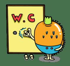 Cheerful Vegetables Village sticker #1897517
